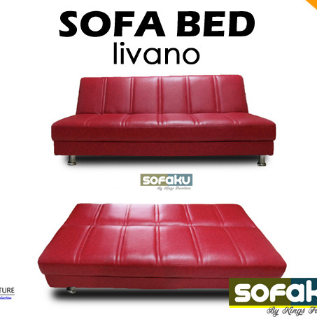 LIVANO Multifunctional Leather Sofa Bed Sleep